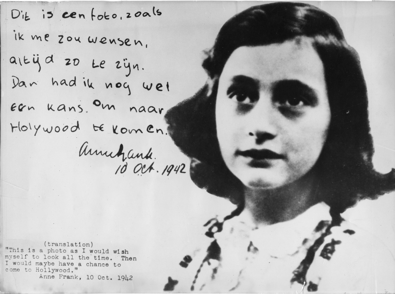 Copy Anne Frank Lessons Tes Teach